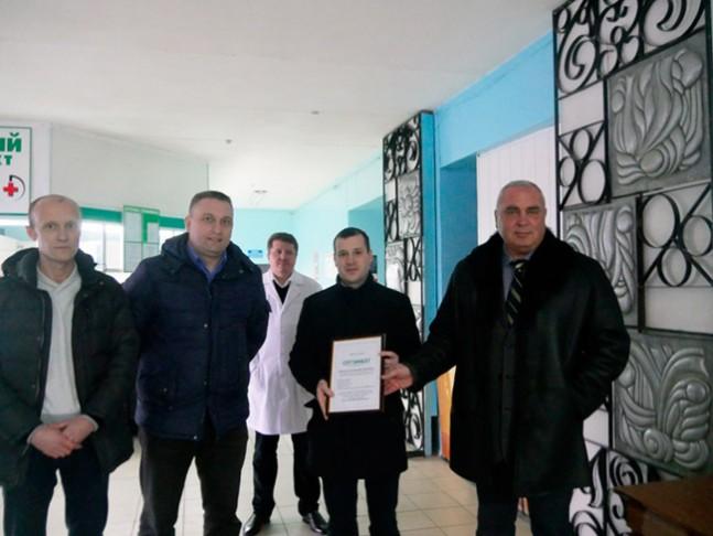 Корпорація «Юрія-Фарм» надала гуманітарну допомогу жителям Донецької області на суму 350 тисяч гривень
